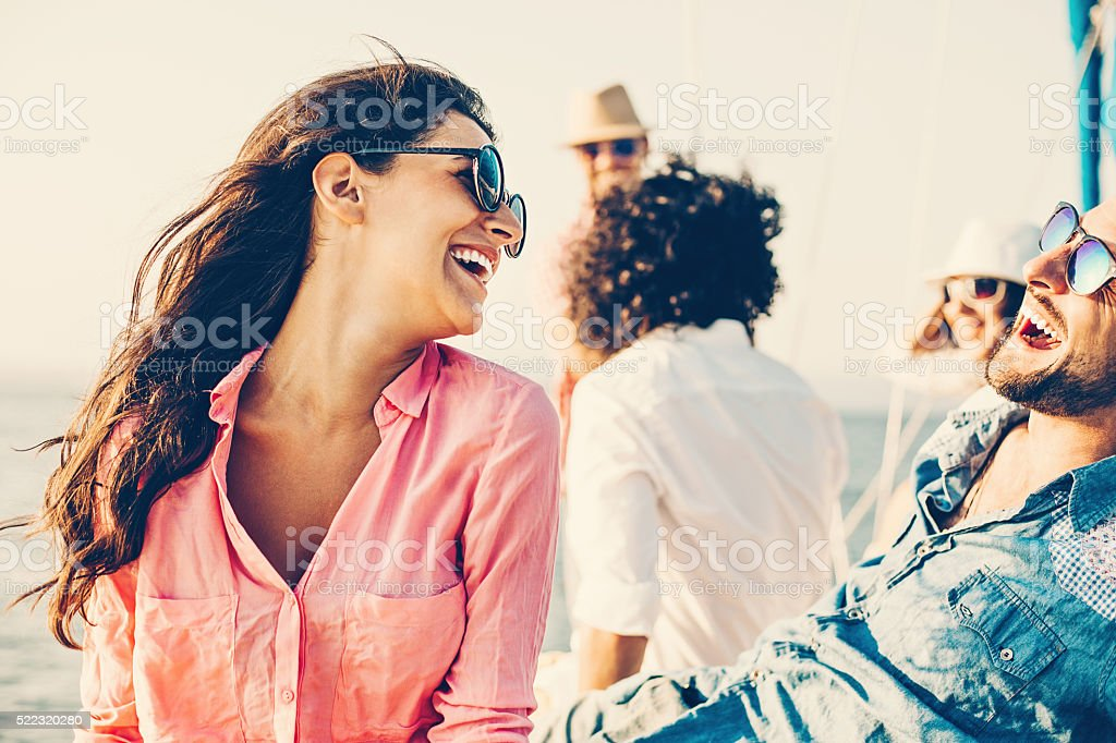 Summer entertainment stock photo