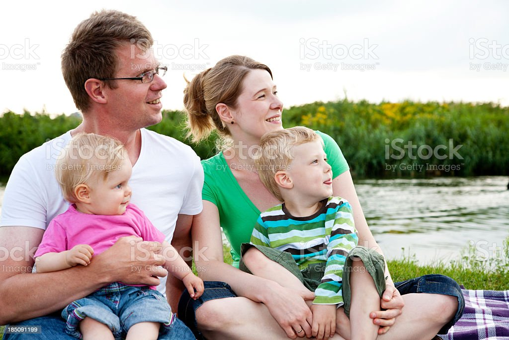 summer family serie royalty-free stock photo
