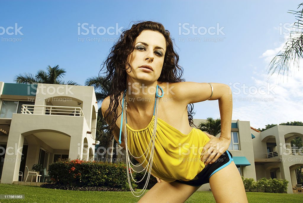 Summer Fashion royalty-free stock photo