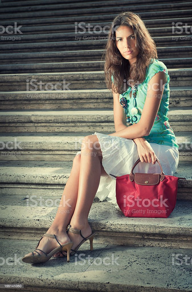 Summer Fashion, Spanish Steps (XXXL) stock photo