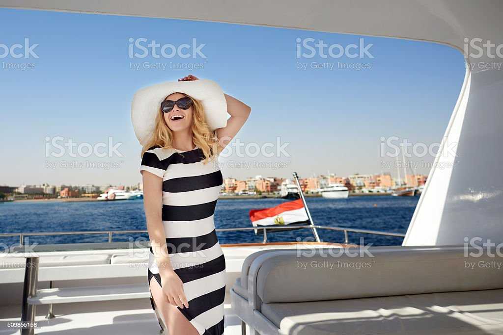summer feelings and freedom stock photo