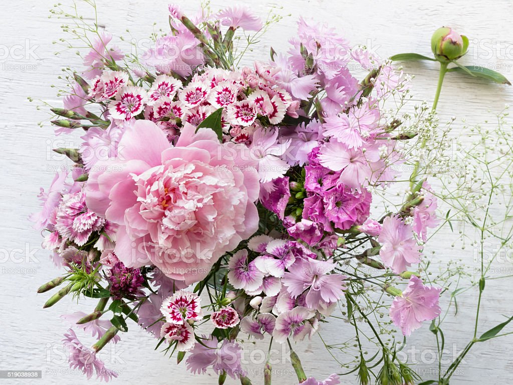 Summer flower bouquet royalty-free stock photo