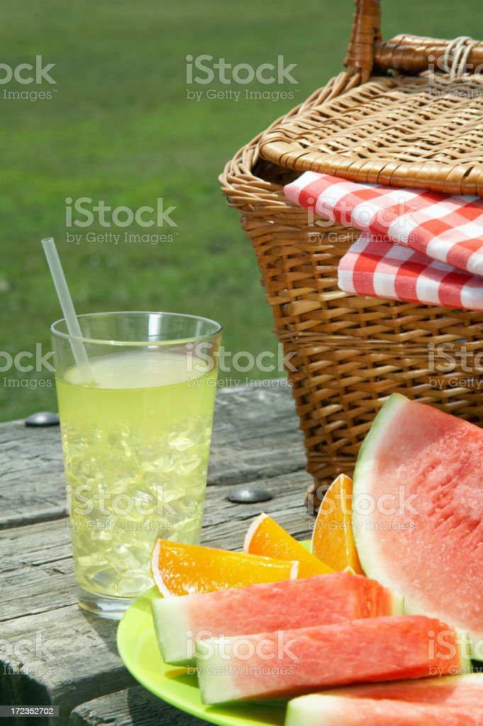 Summer Foods royalty-free stock photo