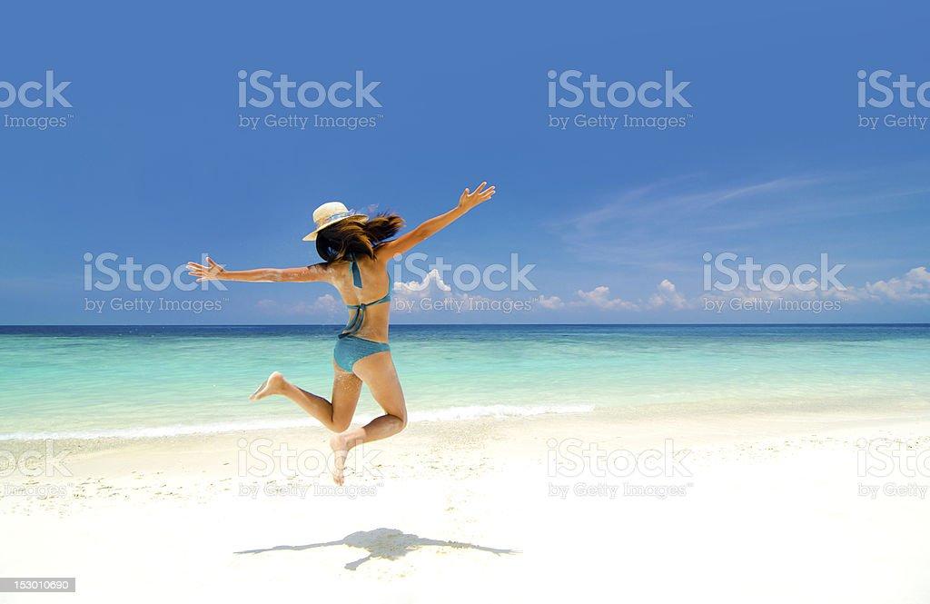 Summer freedom royalty-free stock photo