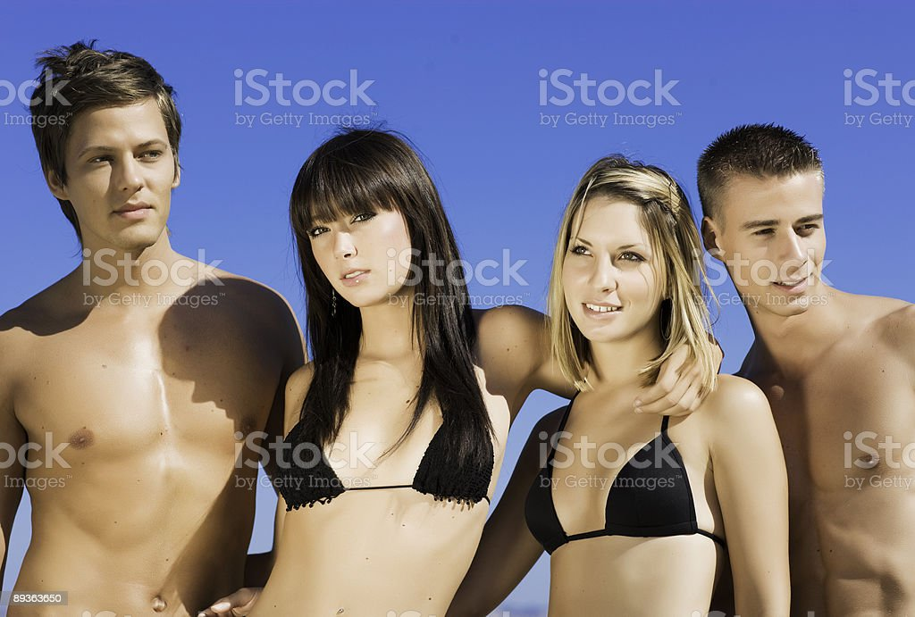 Summer Friendship royalty-free stock photo