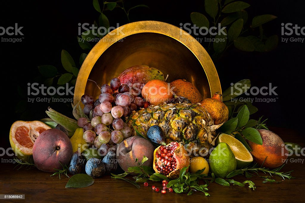 Summer Fruit Still-life stock photo