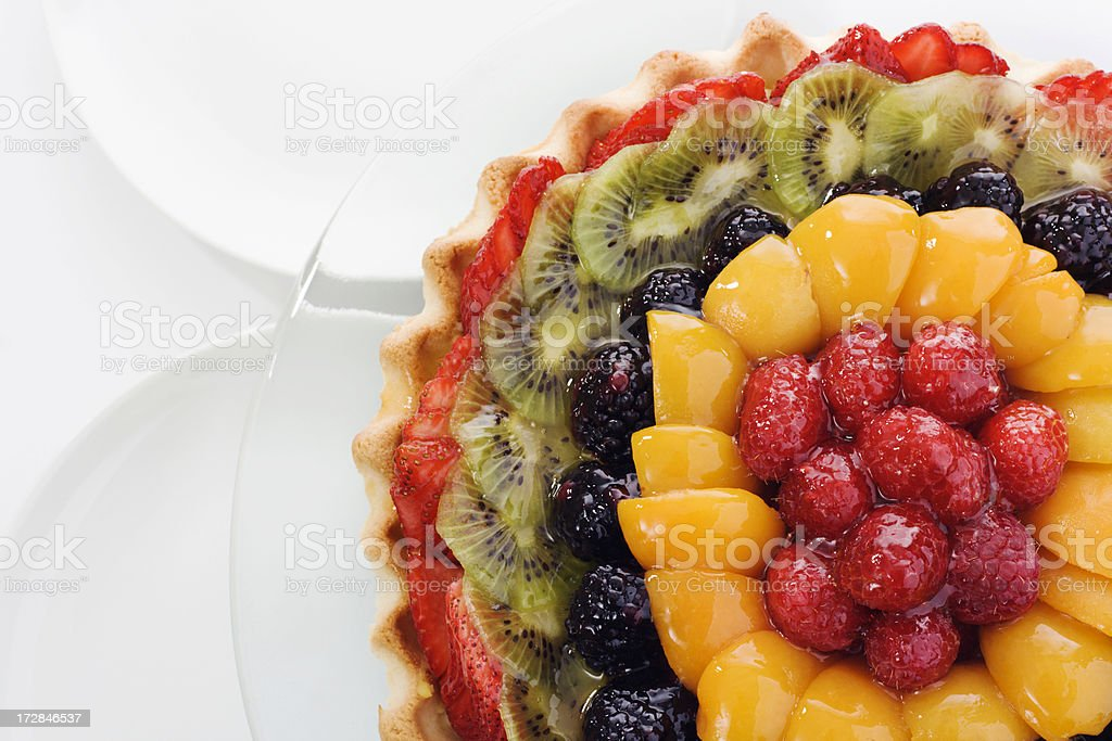 Summer Fruit Tart royalty-free stock photo
