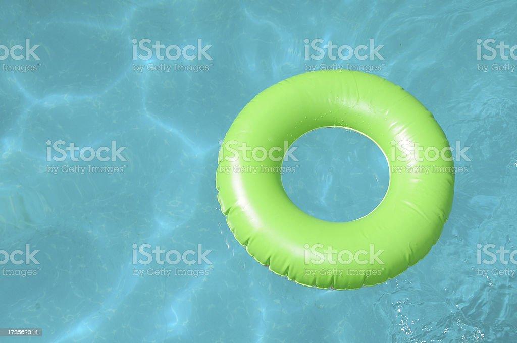 Summer fun at the pool royalty-free stock photo