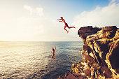 Summer Fun, Cliff Jumping