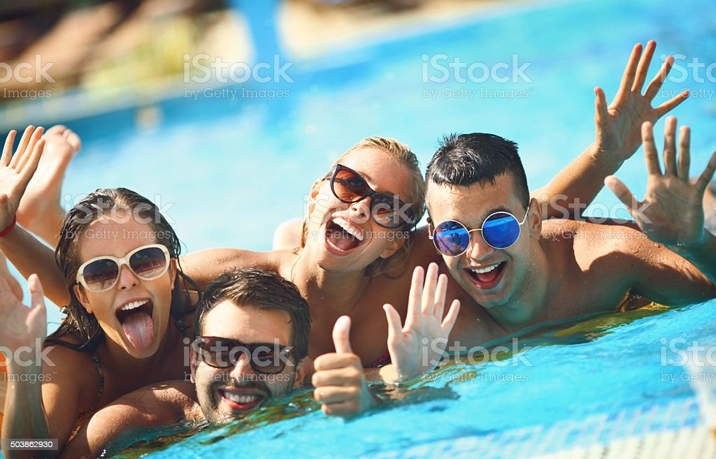 Summer fun. stock photo