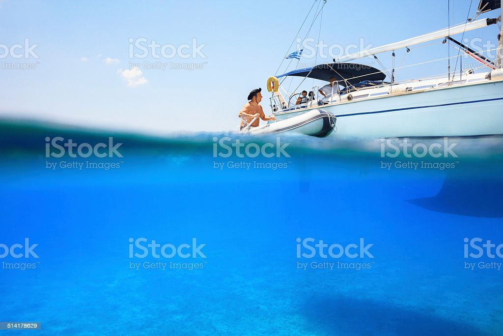 Summer fun stock photo