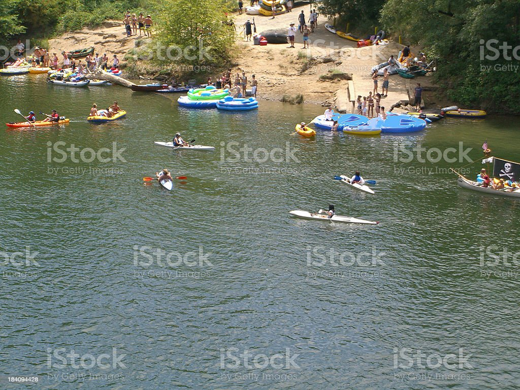Summer Fun shore royalty-free stock photo