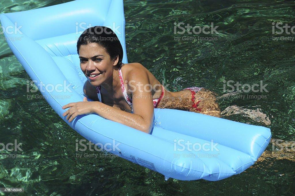 Summer fun vacation stock photo