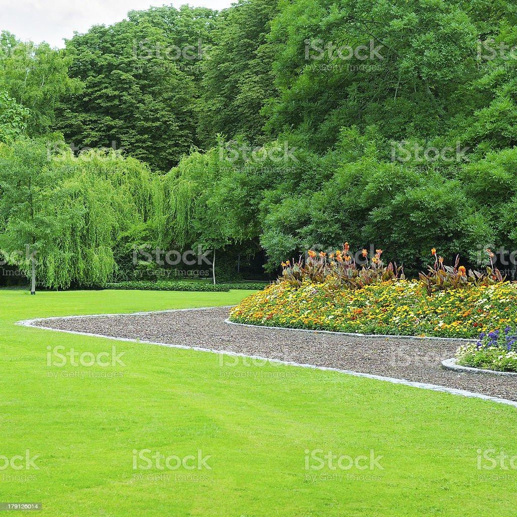Summer garden royalty-free stock photo