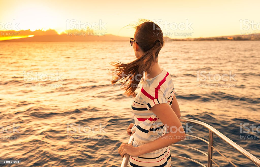 Summer getaway stock photo