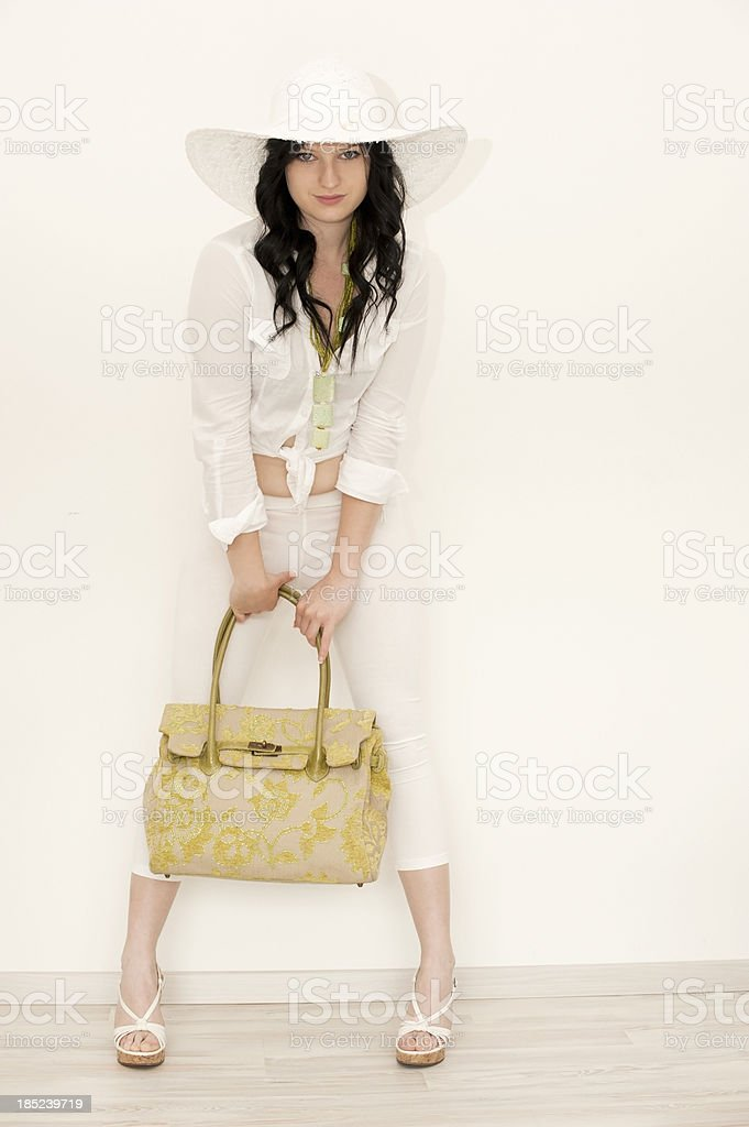 Summer Girl stock photo
