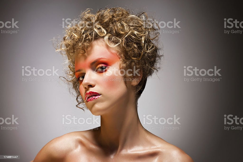 Summer glamour royalty-free stock photo