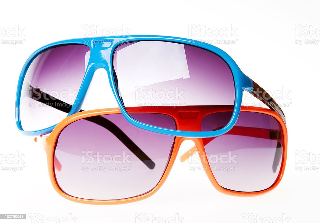 Summer Glasses royalty-free stock photo