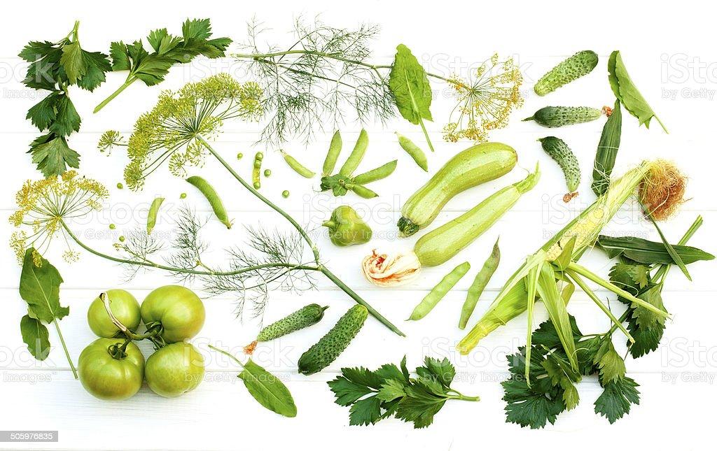 Summer green vitamins royalty-free stock photo