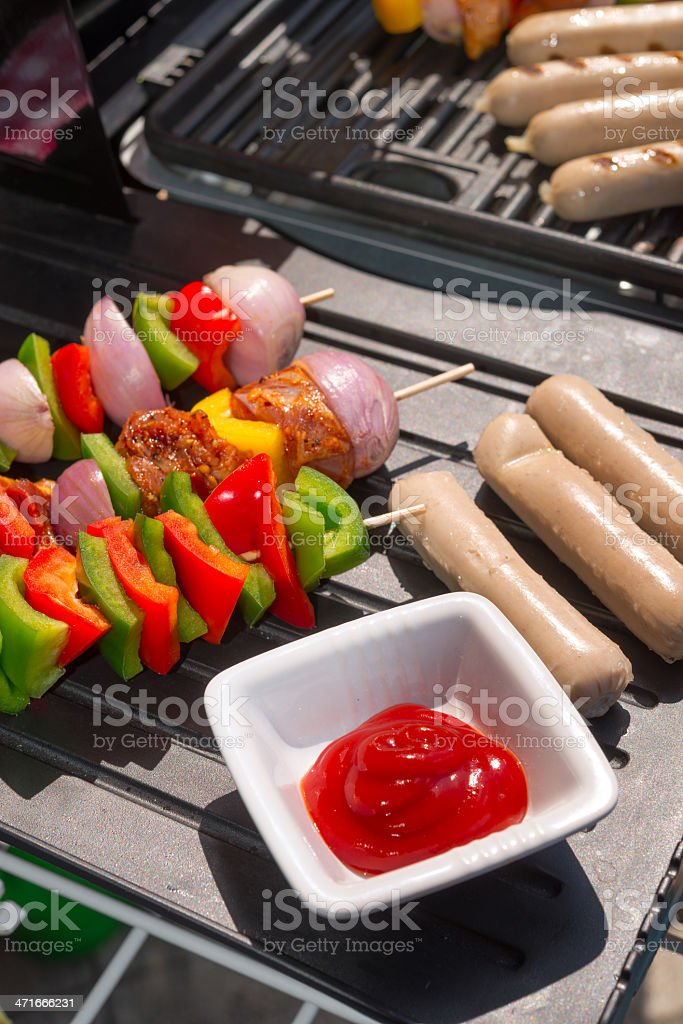 summer grill party royalty-free stock photo