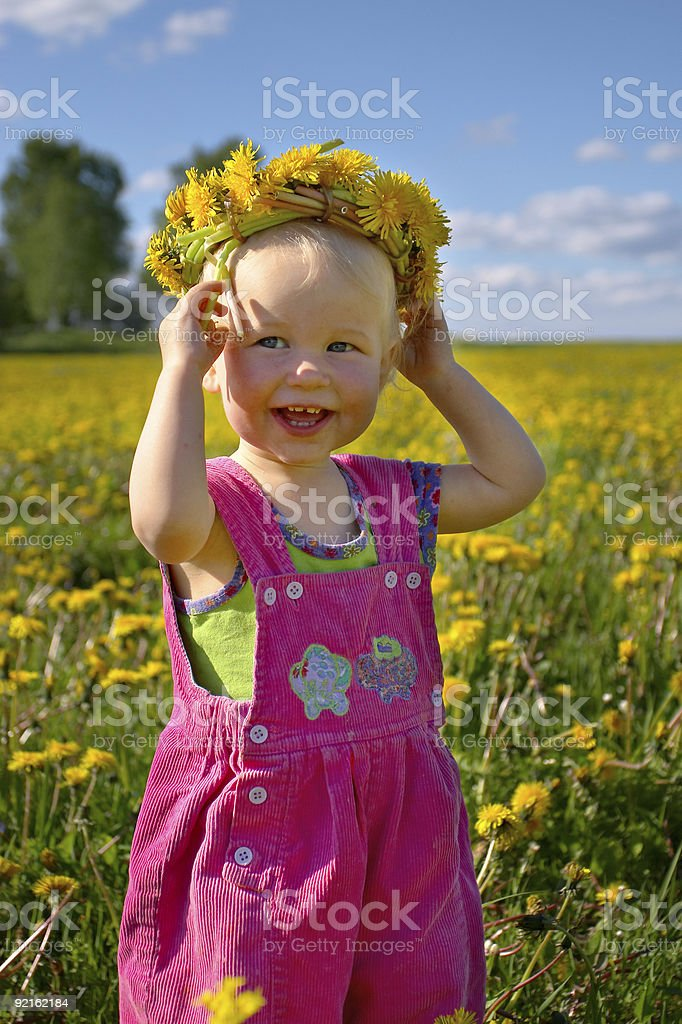 summer happiness royalty-free stock photo