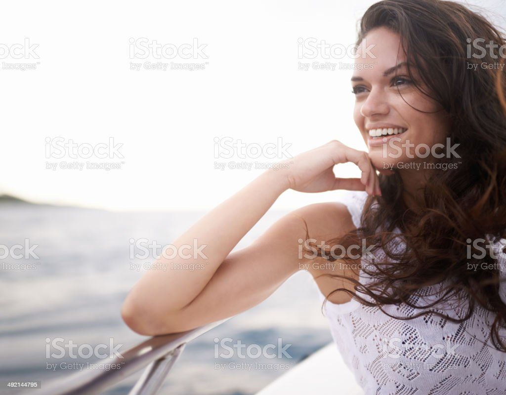 Summer has that magical touch stock photo