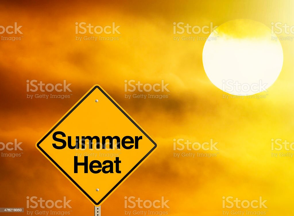 Summer Heat stock photo