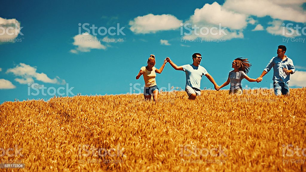 Summer here we are part two. stock photo
