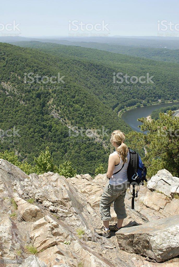 Summer Hike stock photo