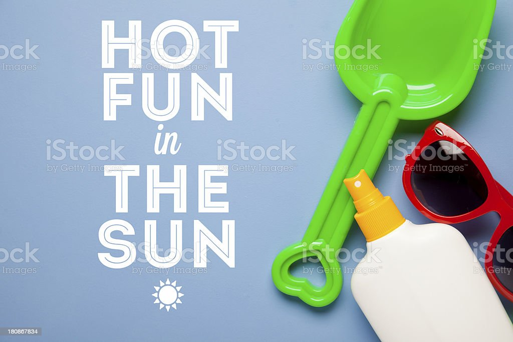 Summer holiday background royalty-free stock photo