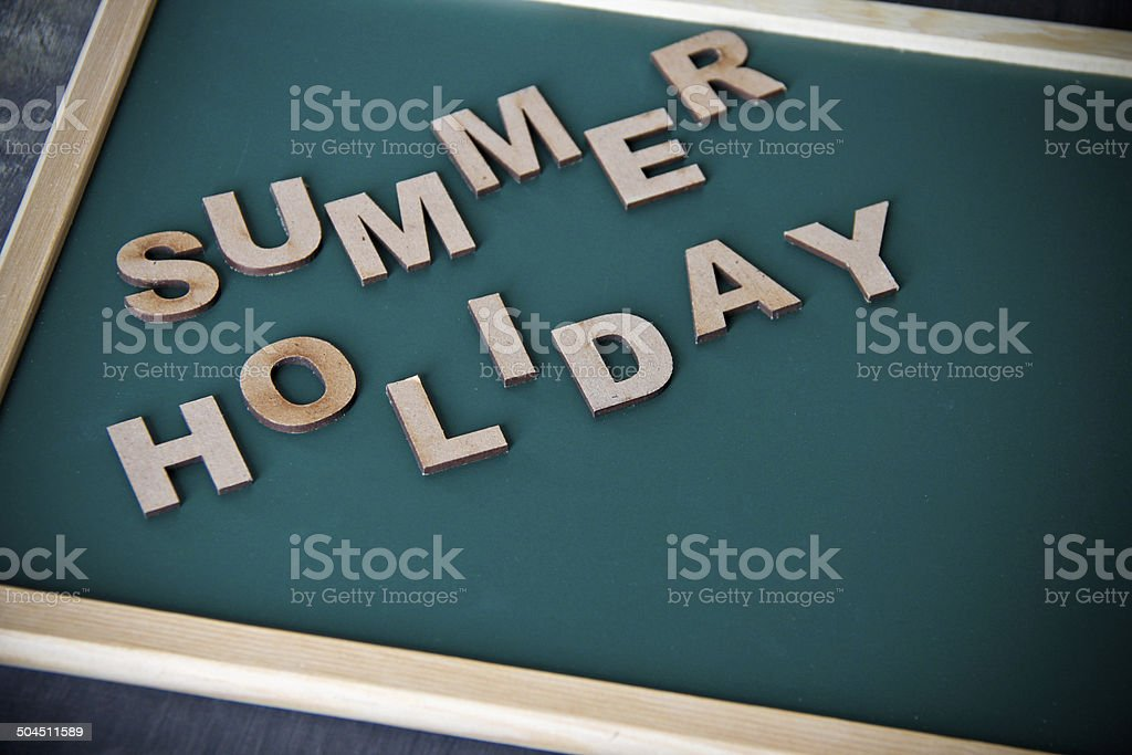 Summer Holiday concept royalty-free stock photo