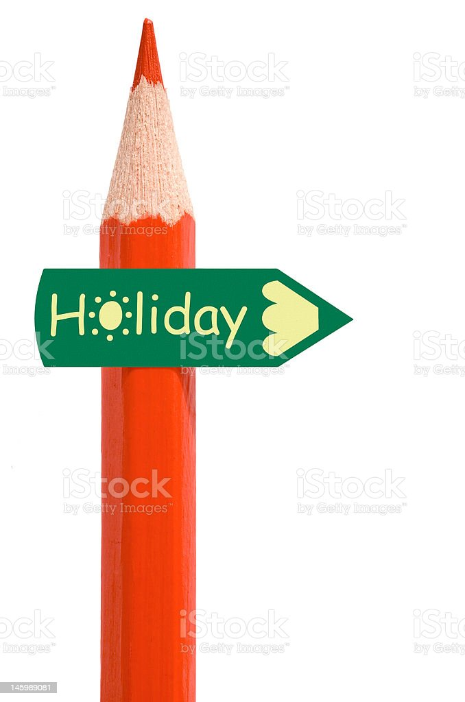 Summer holiday for schools stock photo