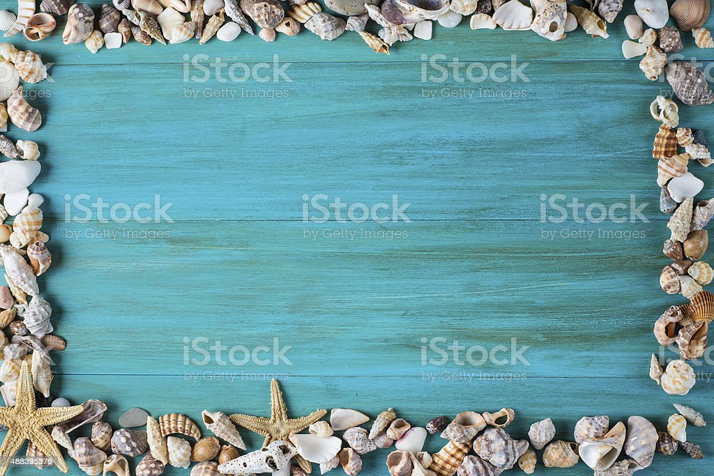 Summer holidays background with a space for advertising stock photo