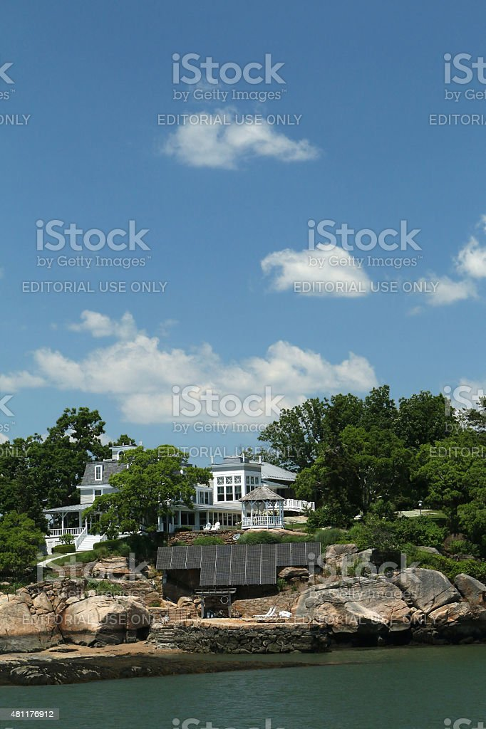 Summer Home of U.S. President William Taft stock photo