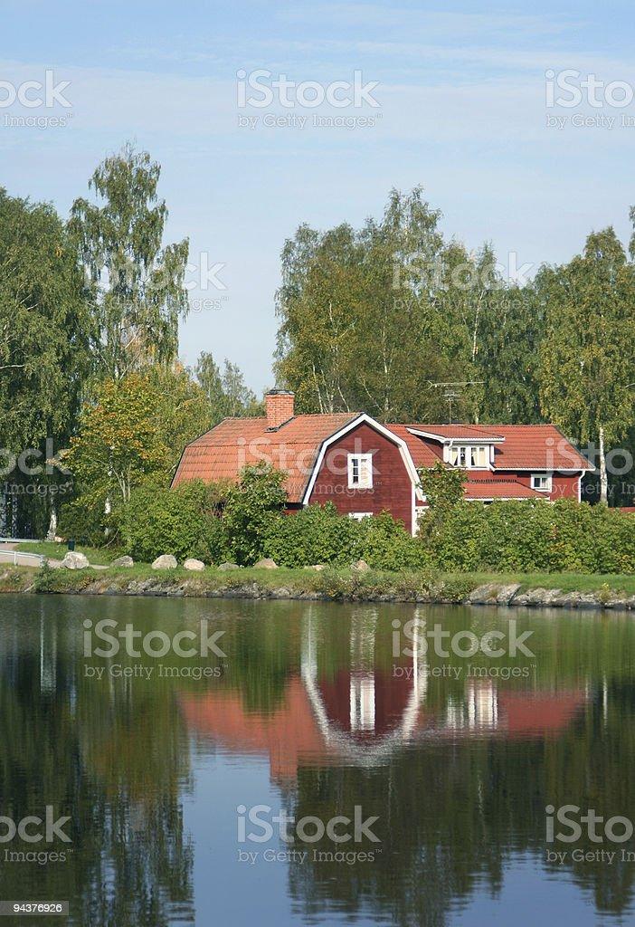 Summer house idyll royalty-free stock photo