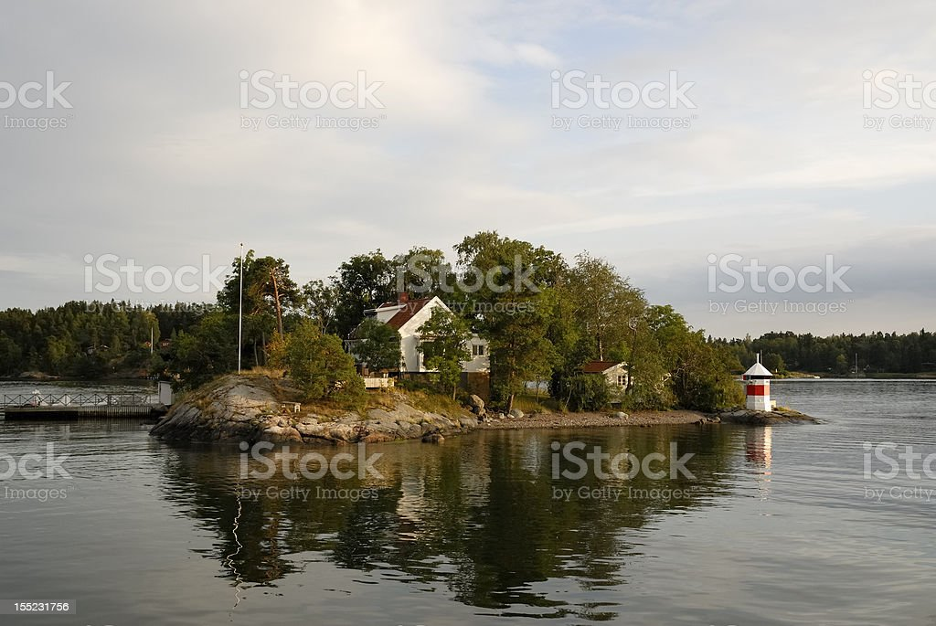Summer house royalty-free stock photo