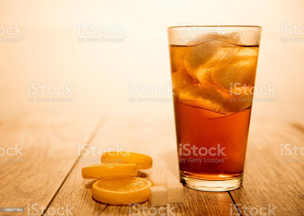 Summer Iced Tea stock photo