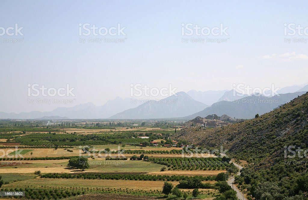 summer in antalya lands royalty-free stock photo
