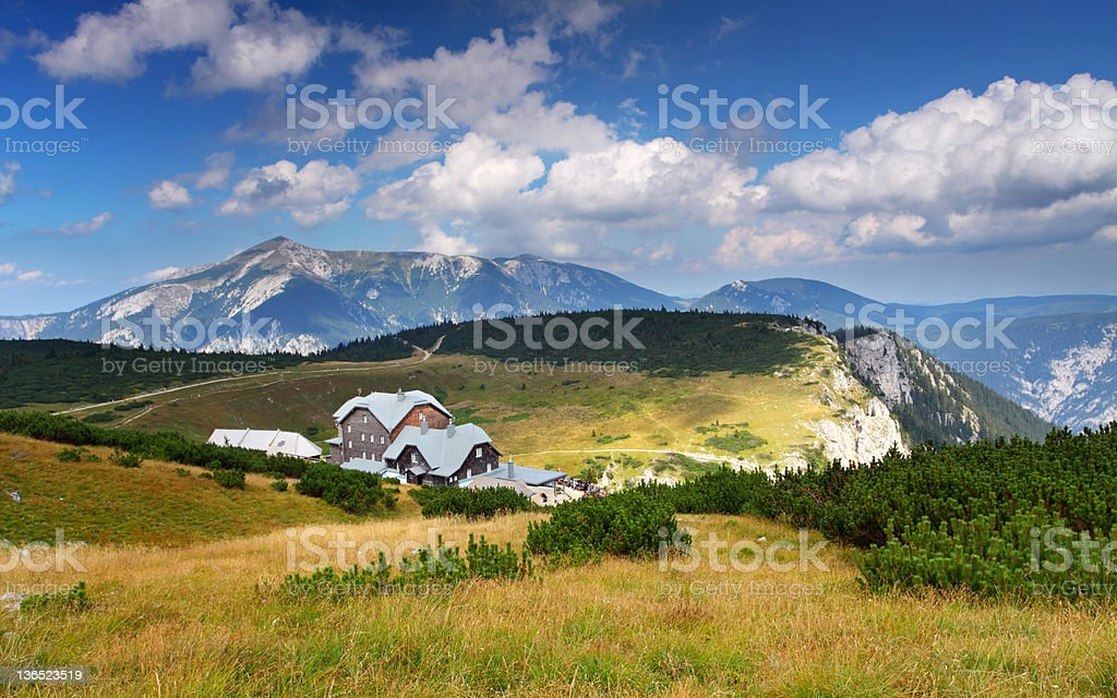 Summer in Austria Raxalpen royalty-free stock photo