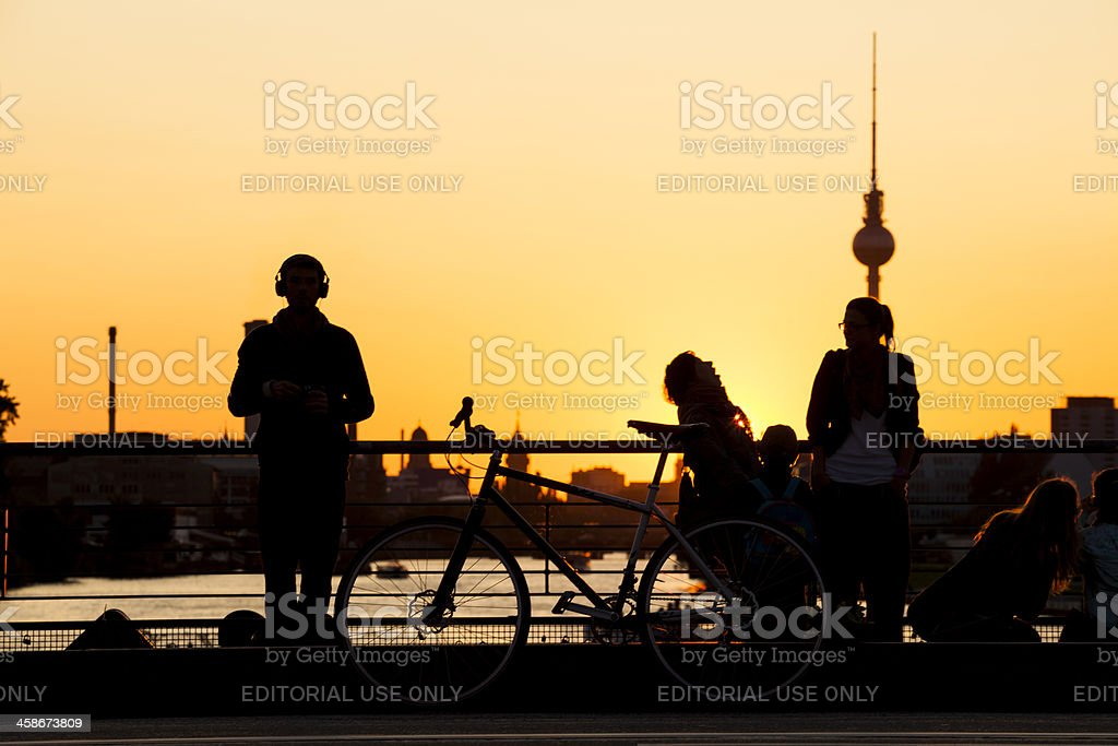 Summer in Berlin, Germany royalty-free stock photo