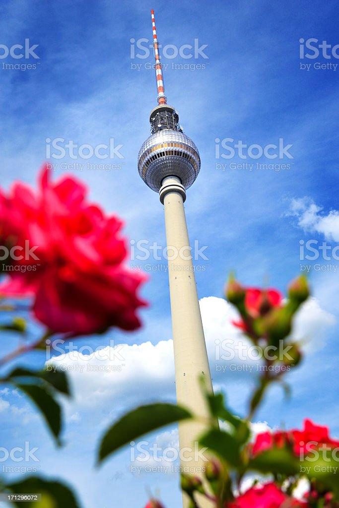 Summer in Berlin stock photo