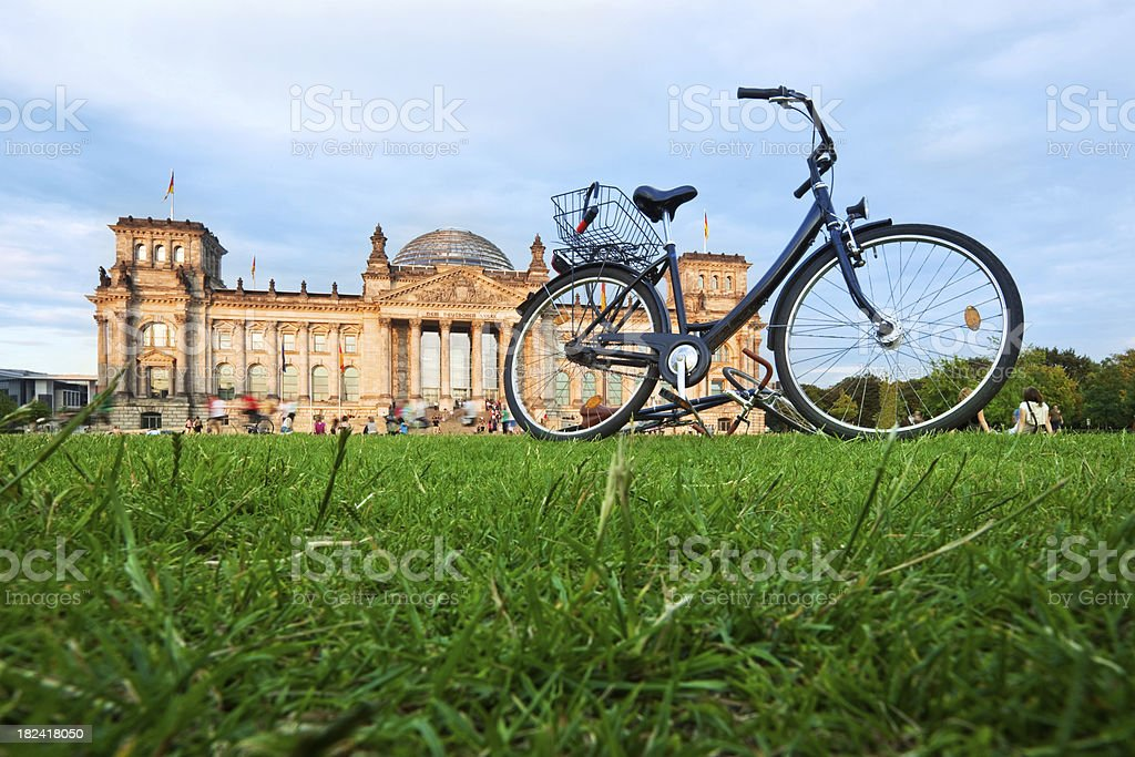 Summer in Berlin royalty-free stock photo