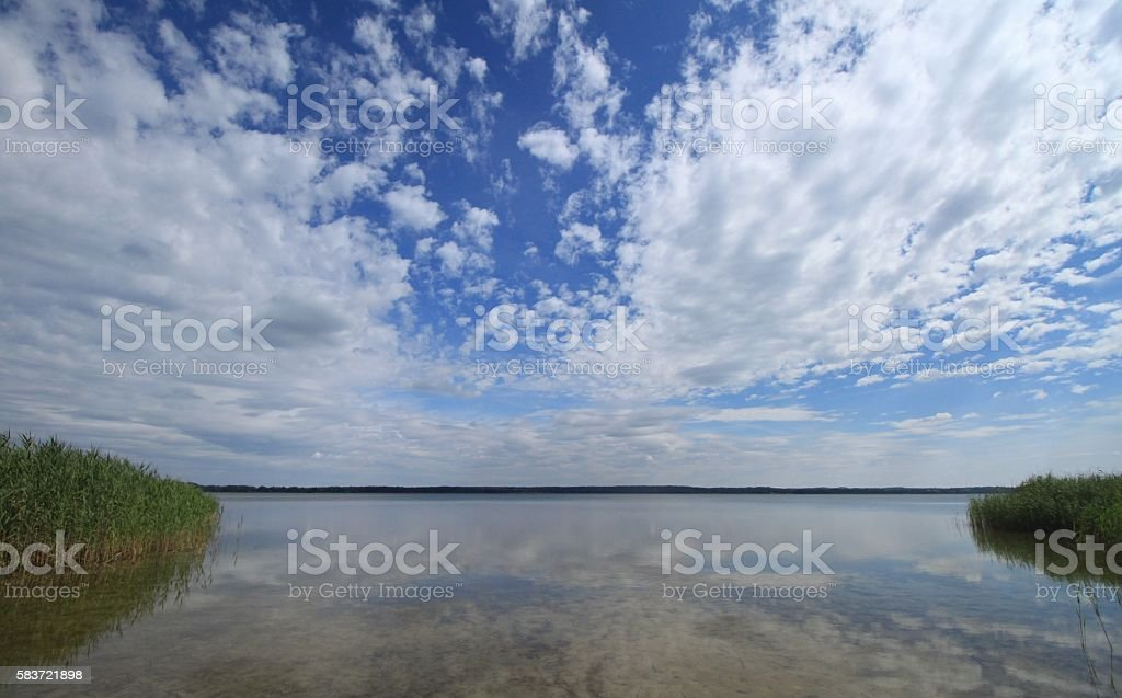 Sommer in Brandenburg stock photo