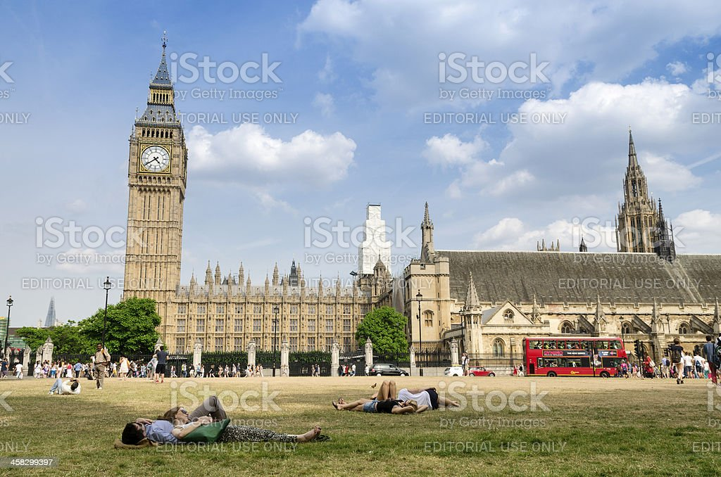 Summer in London royalty-free stock photo