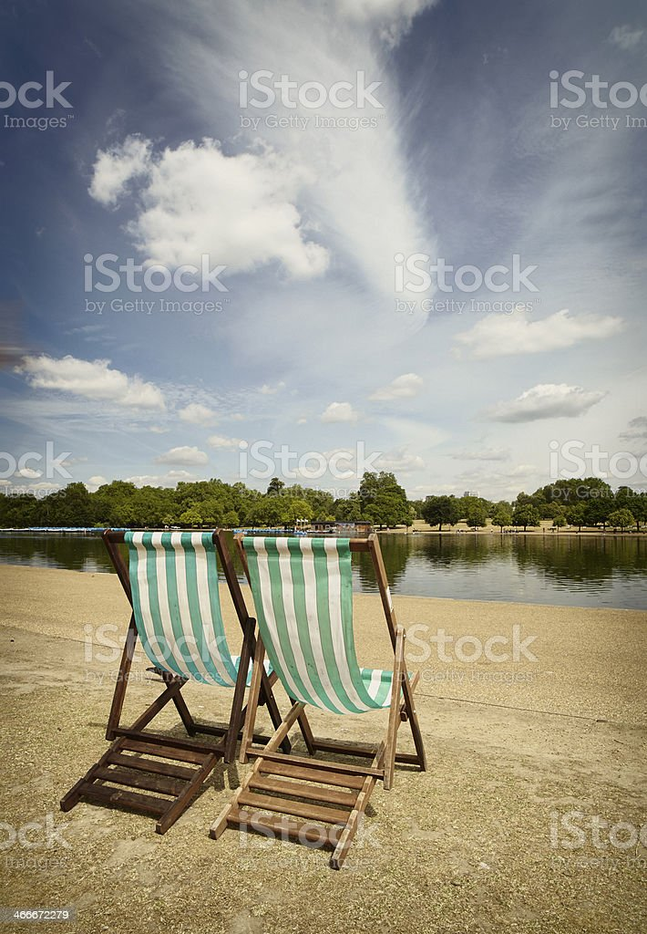 Summer In London stock photo
