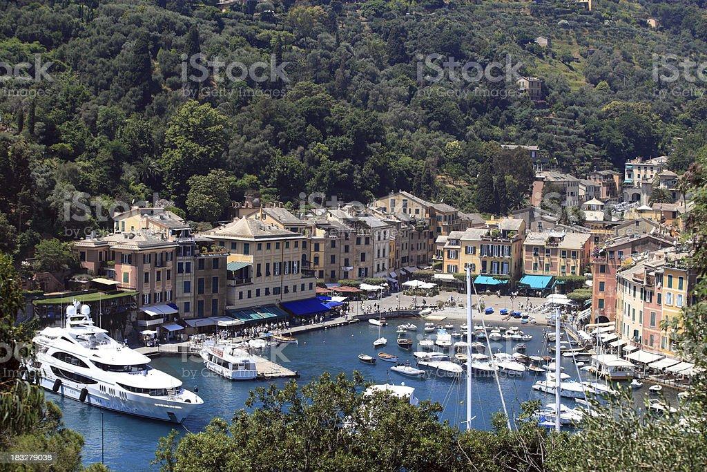 Summer in Portofino stock photo