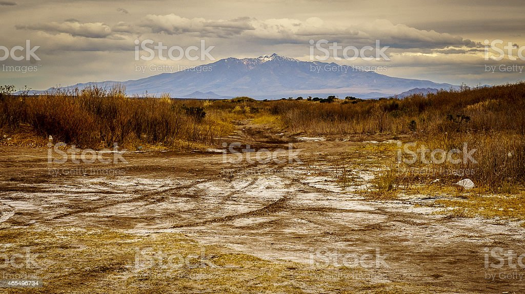 Summer in San Rafael Mendoza stock photo