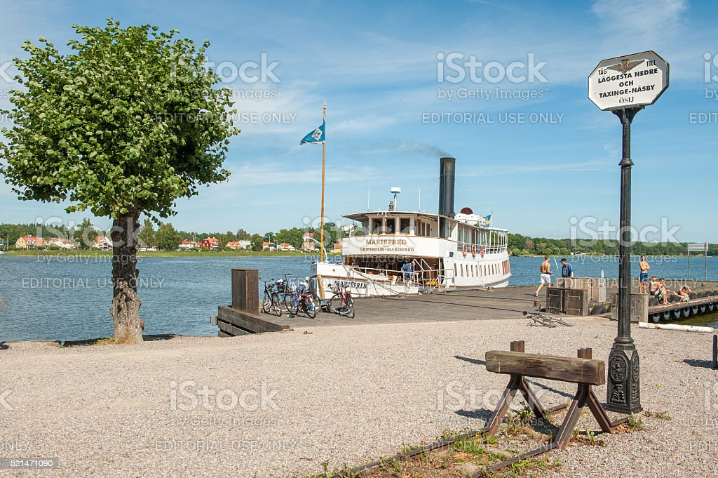 Summer in Sweden stock photo