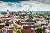 Summer in Tallinn, Estonia
