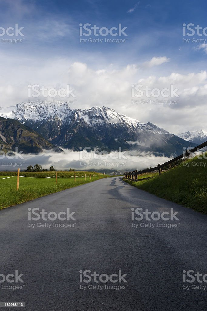 Summer in the Alps royalty-free stock photo